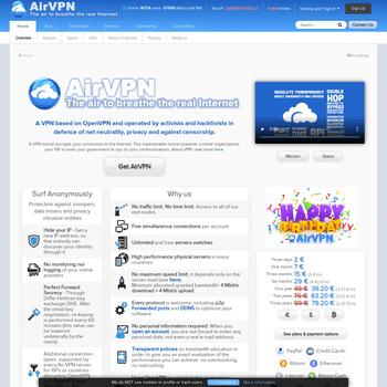 airvpn.org-homepage