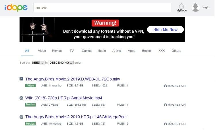 idope-torrent-sites